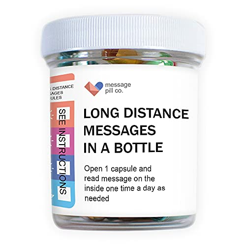 Long Distance Relationships Gifts Love Messages in a Bottle Gift for...