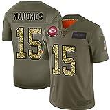 JesUsAvila M-ah.omes #15 Maillot de Rugby pour Homme Sports à Manches Courtes Maillot de Football Américain T-shirt Respirant Élasticité/T/L