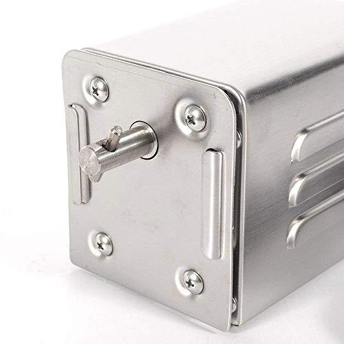 41s660ZTnrL - WYZXR SP-S40 Edelstahl BBQ Grill Röster Elektromotor Große Kapazität Automatische Drehung Einfache Installation Ziegenschwein Huhn Grillzubehör im Freien (220V-240V)