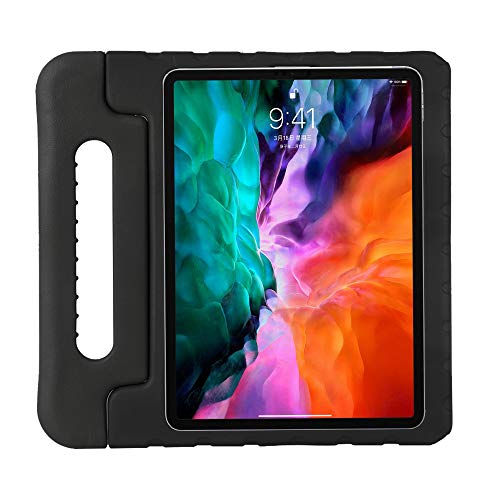 ZiHang Funda Infantil iPad Pro 11 2020, Carcasa Niño Antigolpes con Asa Convertible Tapa de Soporte, Funda Bebé Ligera para iPad Pro 11 2020 (Negro)