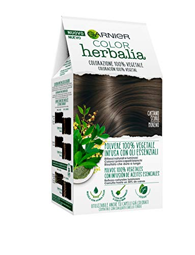 Garnier Herbalia Coloración 100% Vegetal - Moreno, disponible en 6
