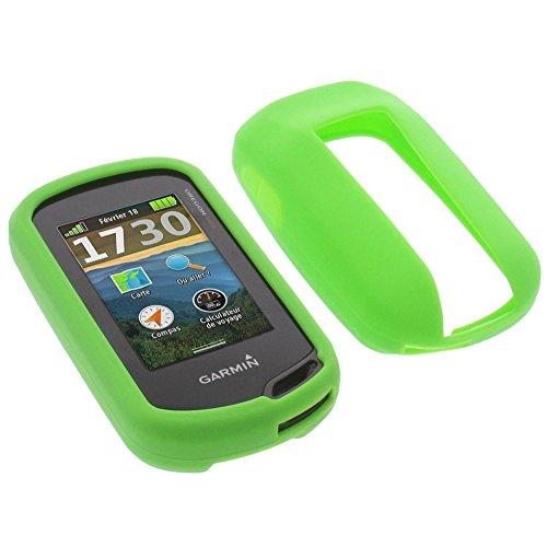 foto-kontor Tasche für Garmin Oregon 600 Oregon 600t Oregon 700 Schutzhülle Silikon Case Schutz Hülle grün