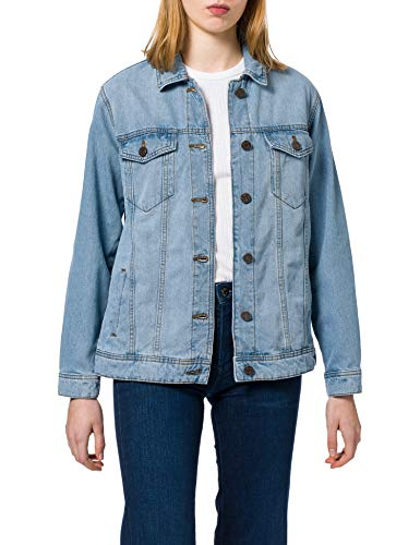 Noisy May NOS DE Damen NMOLE L/S Jacket VI103LB BG S Jeansjacke, Light Blue Denim, XL