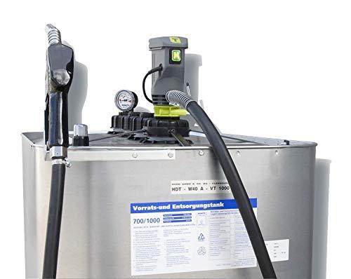 Dieseltankanlage 1000 Liter Schütz HW40 mit Automatik-Zapfventil