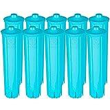 10 filtros de agua compatibles con Jura Claris Blue GIGA Filtro Cafetera automática ENA 3 5 7 9 J9 J9.2 J9.3 J9.4 J80 J85 Z7 Z9 One Touch IMPRESSA A5 A9 C50 C55 F7 FMI8 CRO 1 5. 8.