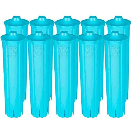 10 x Wasserfilter kompatibel mit Jura Claris Blue Filterpatrone GIGA Filter Kaffeevollautomat ENA 3 5 7 9 J9.2 J9.3 J9.4 J80 J85 Z7 Z9 One Touch, IMPRESSA A5 A9 C50 C55 F7 F8 MICRO 1 5 8