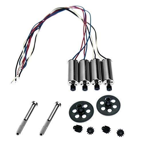 Nuovi pezzi di ricambio Coperchio Viti dell elica Motore di protezione delle lame per VISUO XS809W XS809HW XS809 XS809S Accessori per drone quadricottero RC Accessori per quadricottero (Colore : Set A