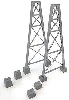 Walthers SceneMaster Steel Railroad Bridge Tower Bent 2 Pack - Kit Train Collectable Train