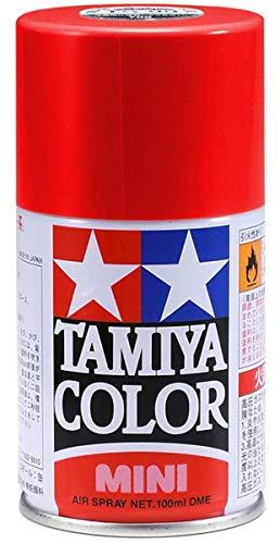 タミヤ スプレー No.18 TS-18 メタリックレッド プラモデル用塗料 85018