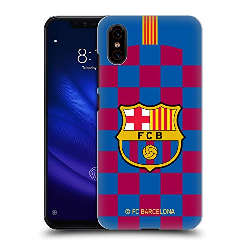 Head Case Designs Oficial FC Barcelona Primera equipación 2019/20 Crest Kit Carcasa rígida Compatible con Xiaomi Mi 8 Pro