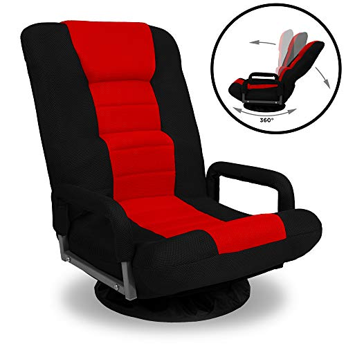 Best Choice Products 360-Degree Swivel Gaming Floor...
