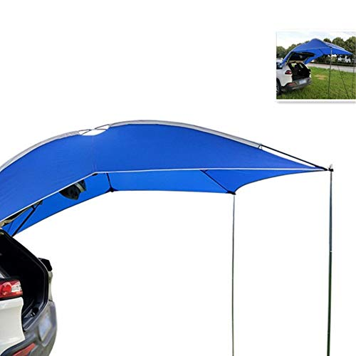 Car Side Shade Zelt, selbst stehende Markise auf dem Dach, mit Bildschirmen, perfekte Ausrichtung, jedes Modell, großer Raum, geeignet für Camping im Freien