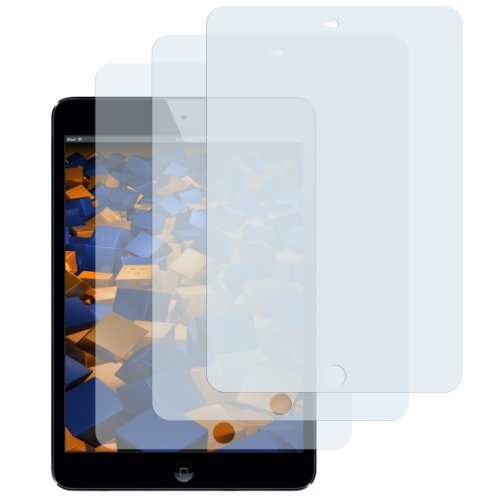 mumbi Schutzfolie kompatibel mit iPad Air/Air 2 Folie, iPad Air 2 Folie klar, Bildschirmschutzfolie (3X)