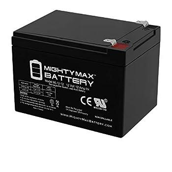 Mighty Max Battery ML12-12 - 12V 12AH F2 Battery SEA-DOO SEA Scooter 12V GTI EXT Battery EA Brand Product