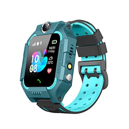 MESEVEN Smartwatch Niños, 2020 Nuevo Reloj Inteligente Niños con Flashlight, IP67 LBS SOS, Cámara, Smartwatch con Ranura para Tarjeta SIM, Regalo Niño Niña de 3-12 Años Compatible con iOS/Android
