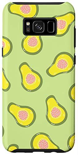 Galaxy S8+ Avocado phone case Fruit in Light Green Tropical Avocado Case