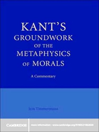 Kant's Groundwork of the Metaphysics of Morals: A Commentary (English Edition)