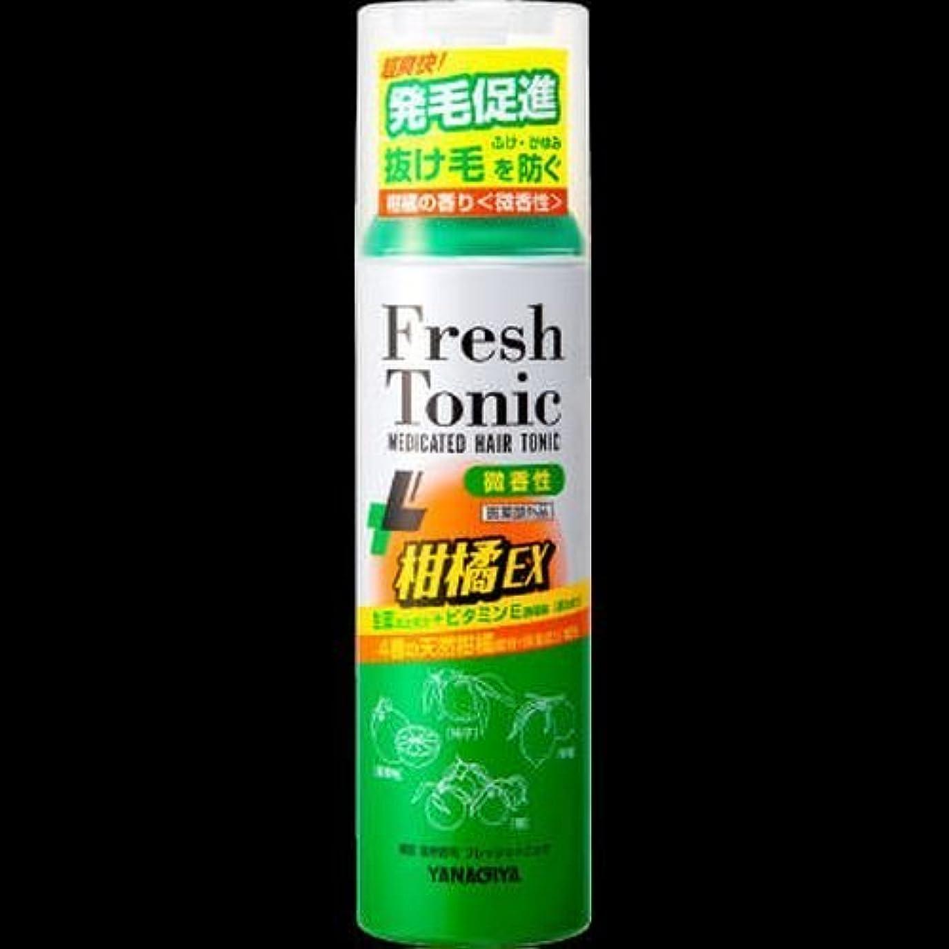 準備危険を冒します測定可能【まとめ買い】柳屋 薬用育毛 フレッシュトニック 柑橘EX <微香性> 190g ×2セット