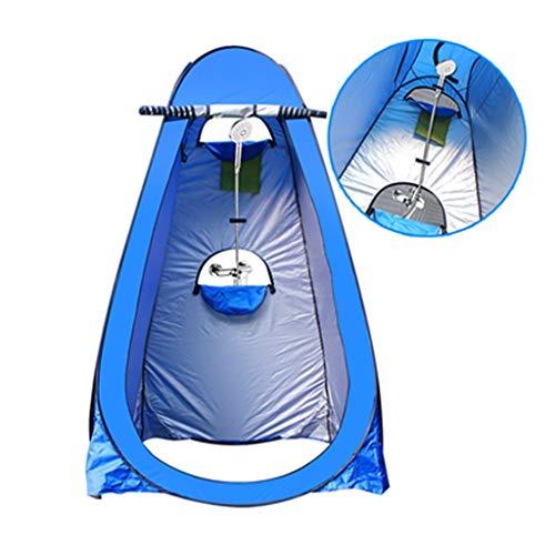Sisizhang Camping Pop Up Zelt, Outdoor Badezelt Duschkabine Warmhalten Wechseln der Abdeckung einfach Mobile Toilette (Color : B1)