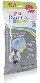 potette plus liners value pack 30 liners