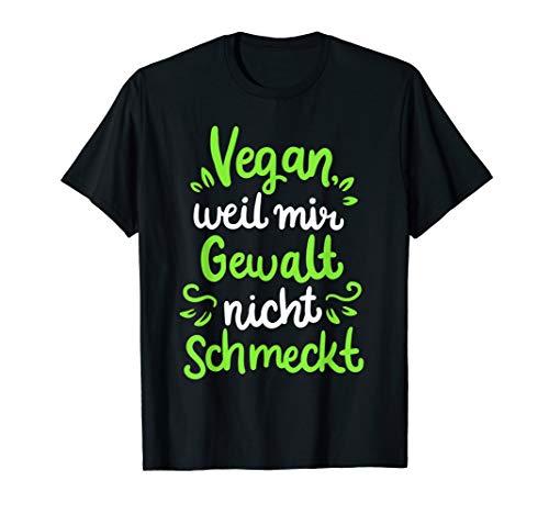 Vegan Tshirt Vegane Ernährung Tierschutz Fleischlos Veganer T-Shirt