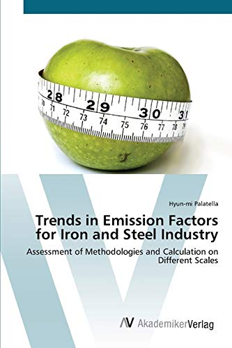 Preisvergleich Produktbild Trends in Emission Factors for Iron and Steel Industry: Assessment of Methodologies and Calculation on Different Scales