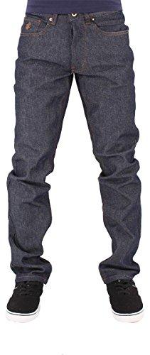 Rocawear Men's Denim Relaxed Fit Jeans, Indigo (30W / 33L)