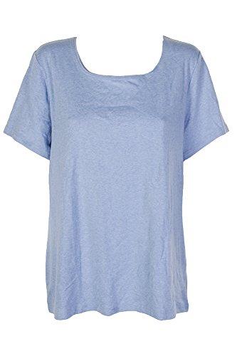 Karen Scott Plus Size Cotton Scoop-Neck T-Shirt