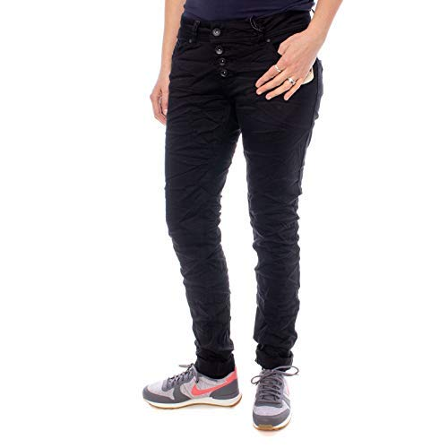 Buena Vista dames jeans Malibu stretch denim donkerblauw