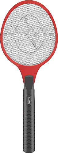 Goobay Elektrische Fliegenklatsche Insektenvernichter, Fliegenfänger mit Batterien, 0