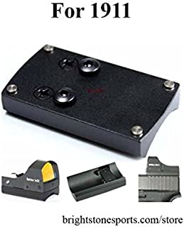 Vector Optics Sphinx Mini Red Dot Scope Sight Slide Mount Base for Pistol 1911 Color Black
