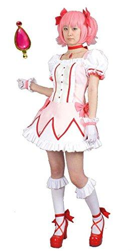 『MilicaBooks 魔法少女まどか☆マギカ 鹿目まどか ウィッグセット Mサイズ ソウルジェム付 コスプレ 衣装』のトップ画像