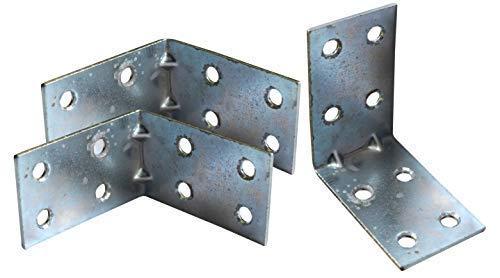 /& Au/ßenbereich Edelstahl Winkelverbinder breit Balkenwinkel ideal f/ür Innen 2 St/ück 6,5 cm Metallwinkel in 3 verschiedenen Gr/ö/ßen 5-15cm