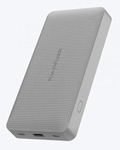 RAVPOWER 45 W PD QC3.0 Power Bank 20100 mAh Tragbares Externer Akku (Version 2019) (grau)