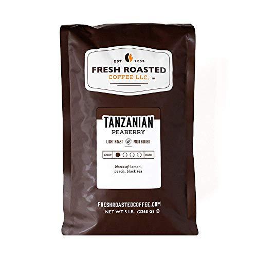 Fresh Roasted Coffee, Tanzanian Peaberry,...