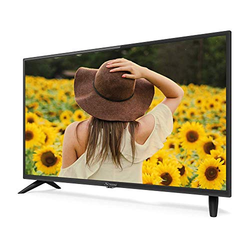 "STRONG SRT32HC2003 32"" (80 cm) HD LED Fernseher mit Triple Tuner (HD, HDMI, Scart, USB, EPG, CI+, DVB-T Antenne, Hotel Modus, DVB-T/T2/C/S2), schwarz"