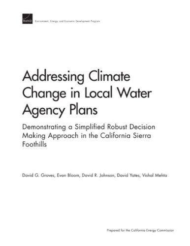 Addressing Climate Change in Local Water Agency Plans: