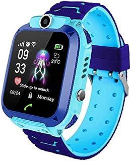 MOGOI Q12 Kids Smart Horloge Telefoon Tracker Voor Kinderen Student Jongens Meisjes Smartwatch Waterdichte 1.44 Inch Touch...