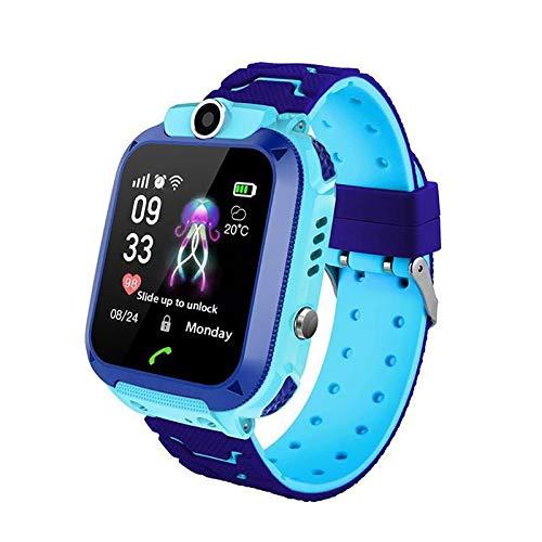 Q12 Kids Smart Watch Phone per bambini Studenti Ragazzi Ragazze Smartwatch Impermeabile IP6 1.44 pollici Touch Glass Sport polso con posizione Tracker Dialer Giochi di allarme