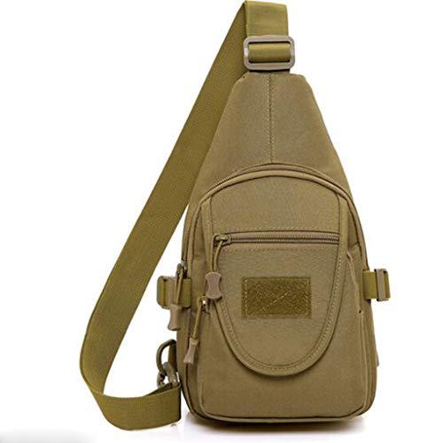 Leger Camouflage Rugzak Schouder Messenger Bag Outdoor Sporttas Mannen En Vrouwen Rijden Crossbody Tas