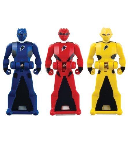 Power Rangers Super Megaforce - Jungle Fury Legendary Ranger Key Pack, Red/Blue/Yellow