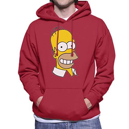 The Simpsons Smiling Homer Men's Hooded Sweatshirt