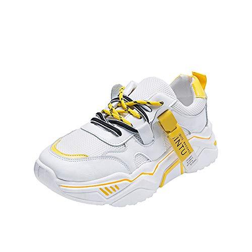 Dilnot Zapatillas de Tenis para Mujer Aire Libre y Deporte Transpirables Casual Zapatos Zapatillas de Deporte Unisex-Adulto