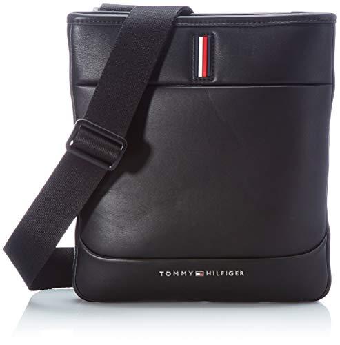 Tommy Hilfiger TH Metro, Borsa. Uomo, Black, One Size