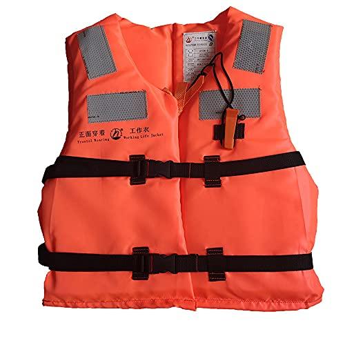 Haihui Work Life – Chaqueta salvavidas para barcos, chaleco sólido para niños pequeños, niños y mujeres, 90 kg, 46 x 52 x 5,5 cm