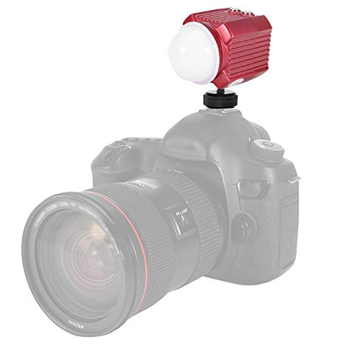 Linterna de Buceo, Linterna de cámara a Prueba de Agua, Profundidad de Buceo de 60 m, Senderismo o Uso doméstico, Camping, Viajes, Pesca para Actividades al Aire Libre, Escalada de montaña,