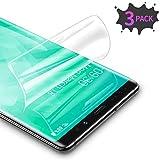RIWNNI [3 Unidades Protector Pantalla para Samsung Galaxy Note 9, Ultra Fino Soft TPU Película Alta Definicion Cobertura Completa Protector de Pantalla para Samsung Galaxy Note 9 - Transparente