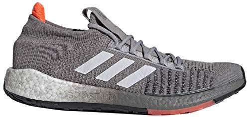 adidas PULSEBOOST HD M, Zapatillas de Running Hombre, Dove Grey/Grey Six/Signal Coral, 44 EU
