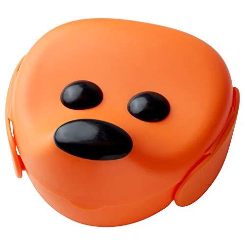 Ikea Puppy Dog Kids Plastic Lunch Box (17 X 18 X 10 Cm, 4',Orange)