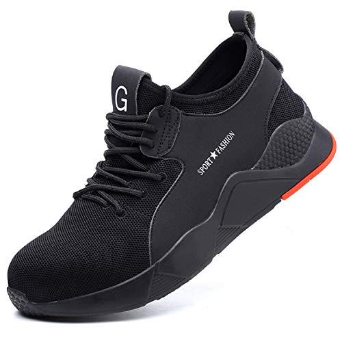 Zapatos de Seguridad Hombre Mujer Ligero Calzado Trabajo Zapatillas con Punta Acero...